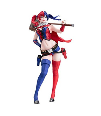 Kotobukiya DC Comics Harley Quinn Bishoujo Statue (New 52 Version)