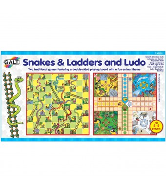 Galt America Snakes and Ladders and Ludo Board Game