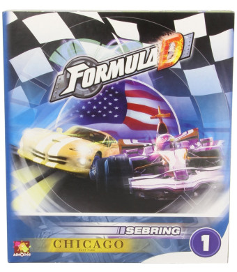 Asmodee Formula D Expansion 1: Sebring and Chicago