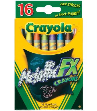 Crayola 16 Count Metallic FX Crayons