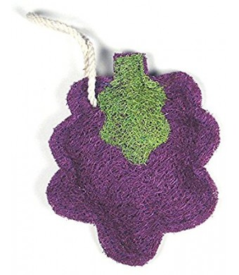 Loofah-Art 100% Natural Loofah Kitchen and Household Scrubber/Sponge, Grape Cluster