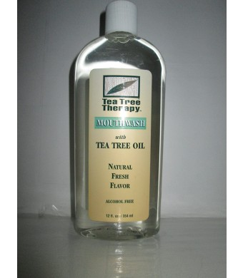 Tea Tree Mouthwash Alcohol Free-12 ounce ( 3 Pack)