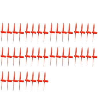 10 x Quantity of UDI U839 All Red Nano Quadcopter Propeller blade Set 32mm Propellers Blades Props Quad Drone parts - FAST FROM Orlando, Florida USA!