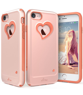 """iPhone 8 Case, iPhone 7 Case, Vena [vLove][Heart-Shape 