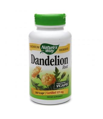 Nature's Way Dandelion Root, Veggie Capsules