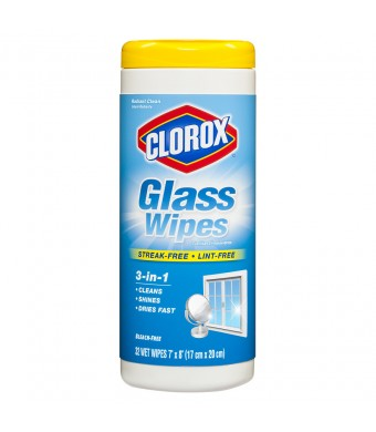 Clorox Glass Wipes Radiant Clean Scent