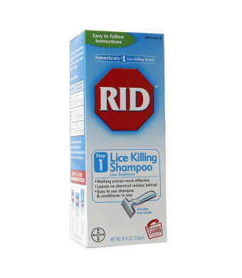 RID Step 1 Lice Killing Shampoo