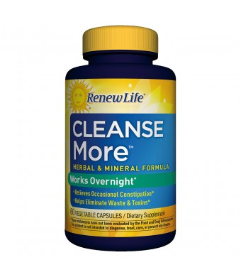 ReNew Life Cleanse More Dietary Supplement Capsules - 60 Capsules