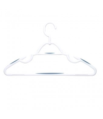 Honey Can Do Soft Touch Swivel Hangers White