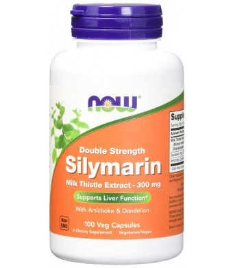 NOW Foods Silymarin Double Strength 300 Milligram 100 Veg Capsules