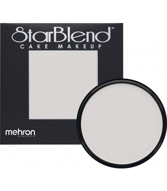 Mehron Makeup StarBlend Cake Makeup MOONLIGHT WHITE  2oz