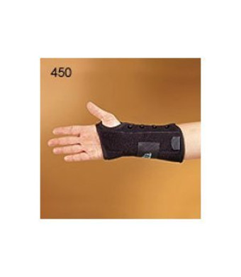 450-LT Orthosis Wrist Titan Felt Left Black Part# 450-LT by Hely and Weber Qty of 1 Unit
