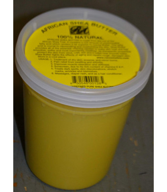 African Shea Butter 100% Natural 32oz by RA Cosmetics