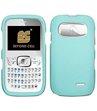 MINT RUBBERIZED HARD SHELL CASE PROTEX COVER FOR ATandT ZTE Z432 PHONE