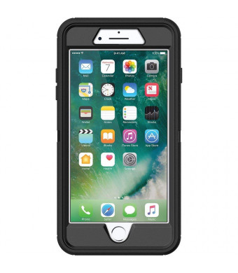 OtterBox (77-53892) DESERIES Case for iPhone 8 and iPhone 7 (NOT Plus) - Retail Packaging - BLACK