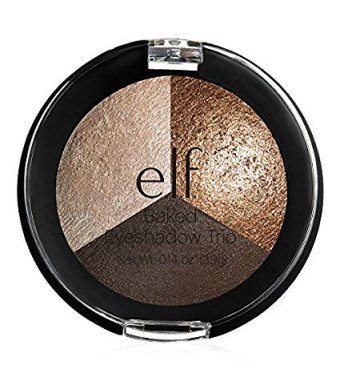 Elf Baked Eyeshadow Trio Brown Bonanza