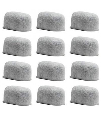 GoldTone Brand Replacement Charcoal Water Filter Cartridges for Keurig Classic and 2.0 Coffee Maker Machines [12 PACK]