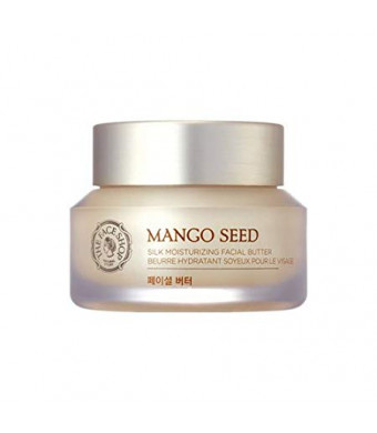 [The Face Shop] Mango Seed Silk Mositurizing Facial Butter For Dry Skin, 50mL/1.69Oz