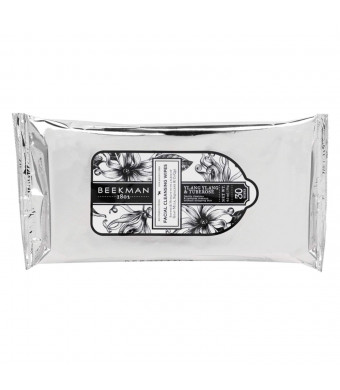 Beekman 1802 Facial Cleansing Wipes 30 ct. in Ylang Ylang - Tuberose