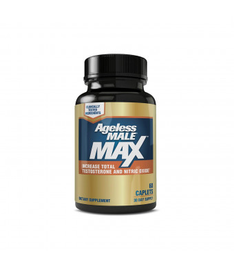 Ageless Male MAX Total Testosterone and Nitric Oxide ...