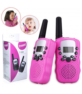 Christmas Presents For 8 Year Olds.Toys For 5 8 Year Old Girls Joyjam Walkie Talkies For Kids Girls Outdoor Fun Gifts For Girls Age 4 6 Christmas Birthday Gifts Pink Wt03
