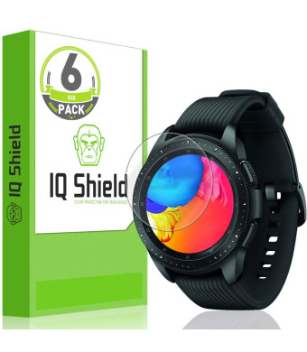 Garmin Vivoactive 3 Music Screen Protector (6-Pack), IQ Shield LiQuidSkin Full Coverage Screen Protector for Garmin Vivoactive 3 Music HD Clear Anti-Bubble Film