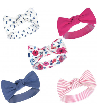 Touched by Nature Baby Girls' Organic Cotton Headbands