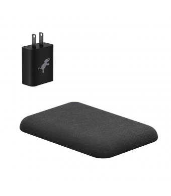 Nimble Eco-Friendly Wireless Pad, Fast 7.5/10w Wireless Charger Compatible with Apple iPhone 8/X/XS/XR, Samsung S9/S8/S7, Qi Enabled Devices (Organic Hemp, Sustainable Bioplastics)