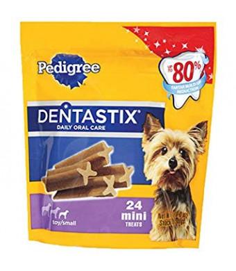 Pedigree Dentastix Dog 24 Mini Treat Toy/Small, 6oz