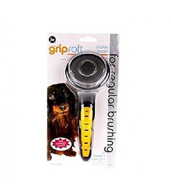 JW Pet Gripsoft Soft Slicker Brush