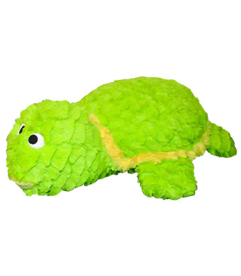 Patchwork Pet Pastel Tortoise 8-Inch Squeak Toy for Dogs