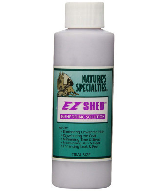 Nature's Specialties EZ Shed Conditioner for Pets, Trial Size