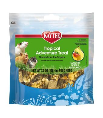 Kaytee Tropical Adventure Treat For Small Animals, 7 Ounce