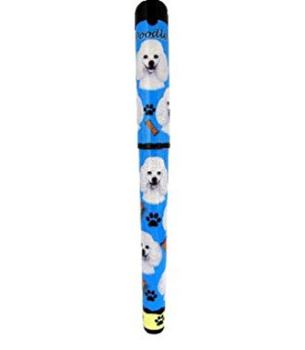 EandS Pets Poodle Pen Easy Glide Gel Pen, Refillable With A Perfect Grip, Great For Everyday Use, Perfect Poodle Gifts For Any Occasion