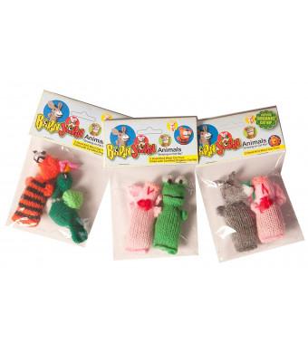 Chilly Dog 2-Pack Barn Yarn Animal Catnip Toy