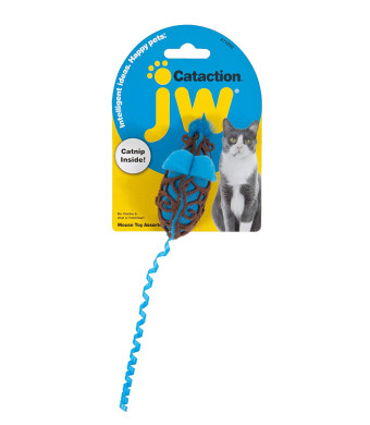 Petmate JW Cataction Mouse Toy, Multicolor
