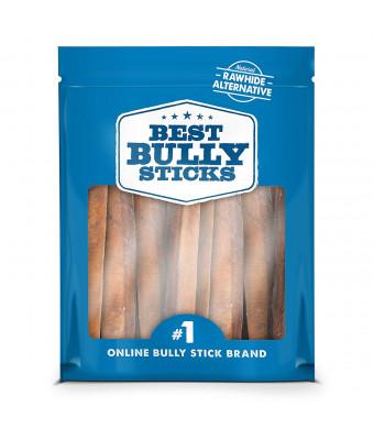 Best Bully Sticks Premium 6-Inch Jumbo Bully Sticks - All-Natural, Free-Range, Grass-Fed, 100% Beef Single-Ingredient Dog Chews