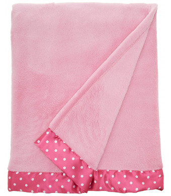 Everything for Kids Toddler Coral Fleece Blanket, Pink