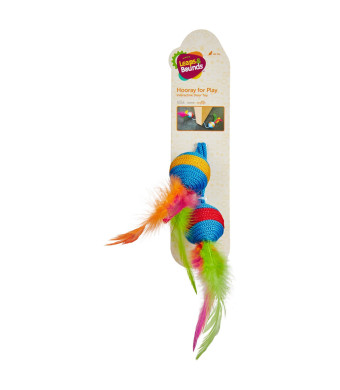 """Leaps and Bounds Interactive Door Cat Toy, 18"""" Length"""