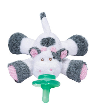 Pink PACIFIER BUDDY Holder-Helps Baby independently Get Their Pacifier!