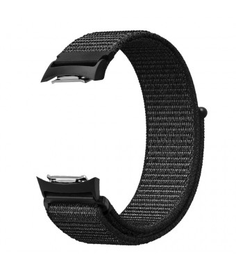 Fintie for Gear S2 Band, Nylon Sport Loop Replacement Strap Bands with Adjustable Closure for Samsung Gear S2 SM-R720 / SM-R730 Smart Watch - Black