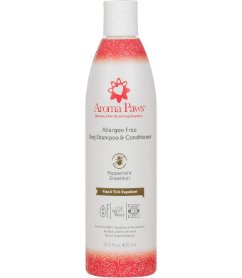 Aroma Paws Allergen Free Bug Repellent Shampoo, 13.5 oz