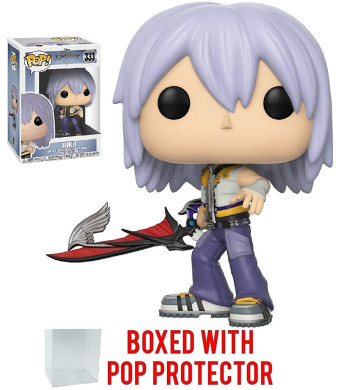 Funko Pop! Disney: Kingdom Hearts - Riku Vinyl Figure (Bundled with Pop BOX PROTECTOR CASE)