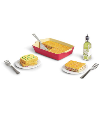 "American Girl Truly Me Lasagne Dinner Set for 18"" Dolls"