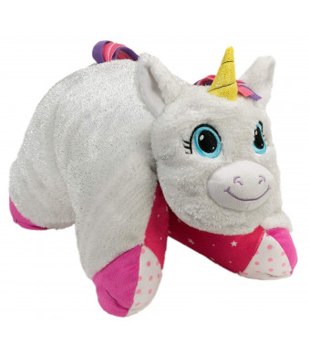 Flipazoo Flip N' Play Friends Plush Toy and Pillow in 1 (Unicorn/Fashion Kitty) Instantly Transforms for Hours of Playtime and Naptime Fun