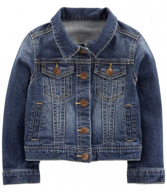 Simple Joys by Carter's Baby and Toddler Girls' Denim Jacket