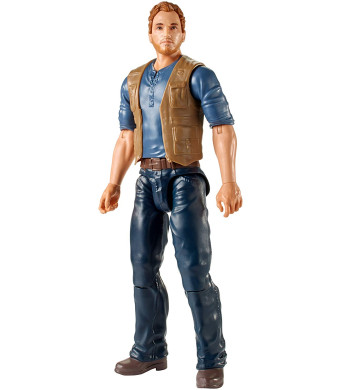 Jurassic World Basic Dino Owen Figure