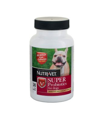 Nutri-Vet Super Probiotics Chewables, 30 Count