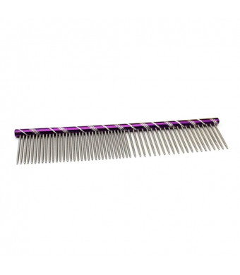 UEETEK Pet Grooming Comb Dogs Cats Comb Stainless Steel