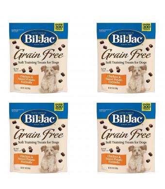 Bil-Jac Grain Free Soft Training Treats for Dogs - Chicken and Sweet Potato Formula - 10 oz Packs
